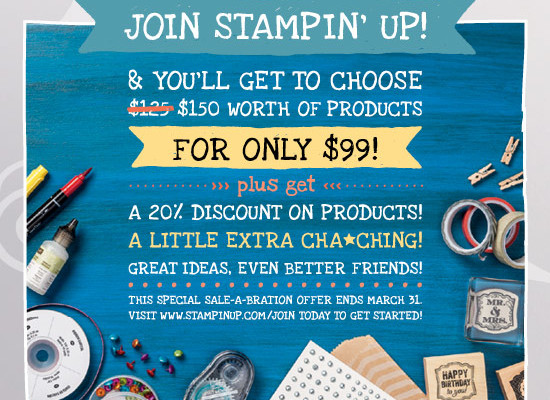 The Stampin' Up! Opportunity is better than ever!