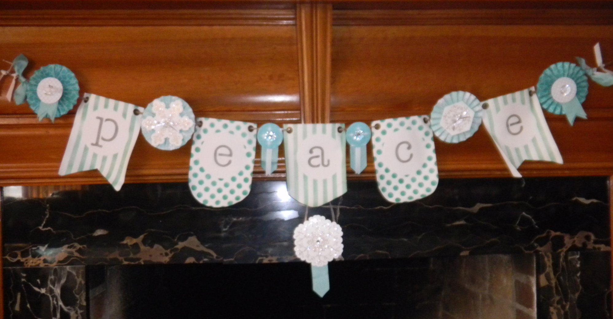 PEACE Banner, Simply Created Kits from Stampin' Up!