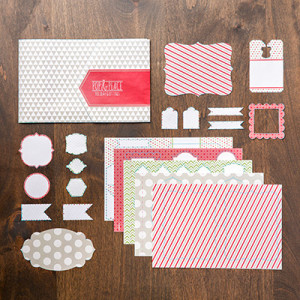 Pop & Place Holiday Gift Tags Book from Stampin' Up!
