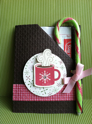 Hot Cocoa Packet for Breast Cancer Awareness