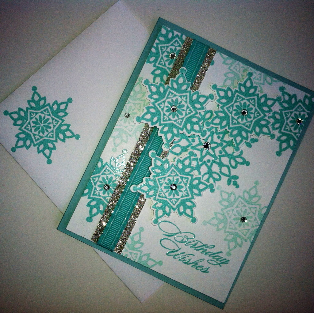 Festive Flurry Collection All images © Stampin' Up! FREE TUTORIAL