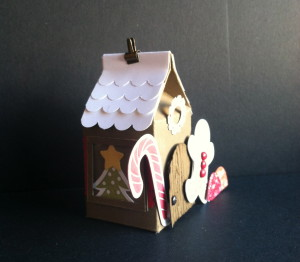 Scentsational Season, Gingerbread House, side view
