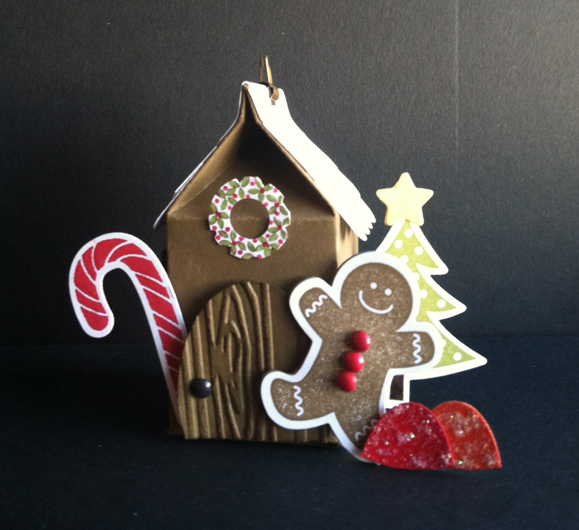 Scentsational Season, Gingerbread House CASE'd with permission from Lorri Heiling