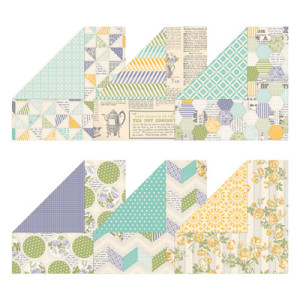 Afternoon Picnic Designer Series Paper from Stampin Up, Item #131390 / $10.95 / 2 each of 6 double-sided designs