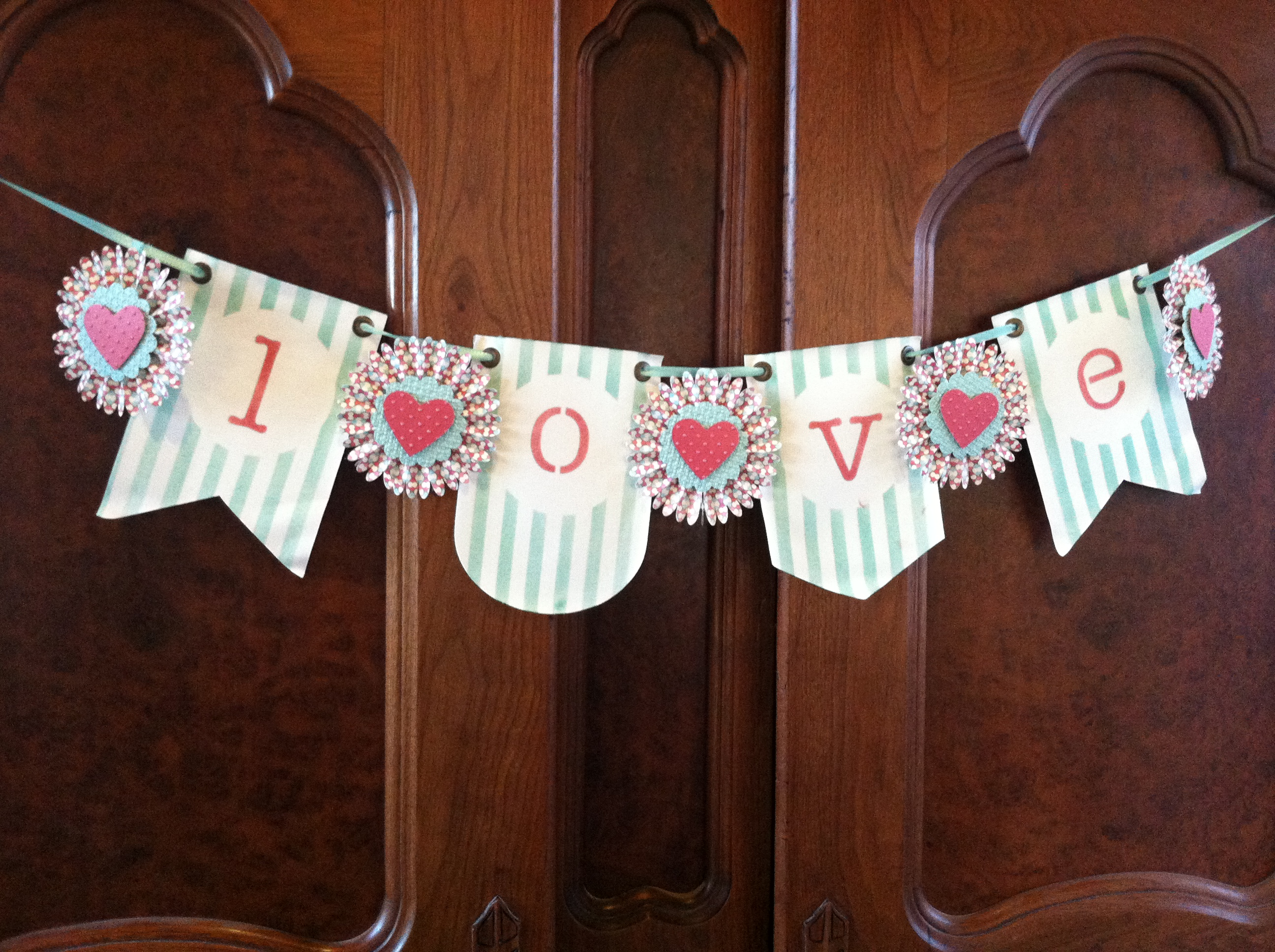 LOVE Banner for Valentine's Day