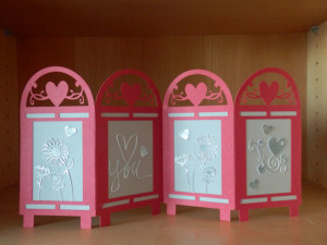 Kate's Paper Creations Valentine's Screen