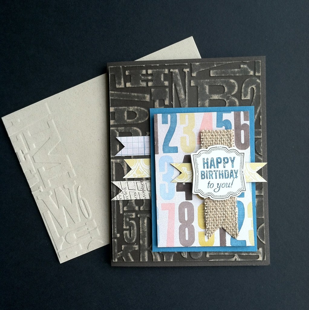 Label Love, Soho Subway Designer Series Paper, Stampin' Up!