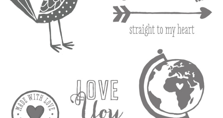 Love You More Stamp Set Stampin Up Item #131853