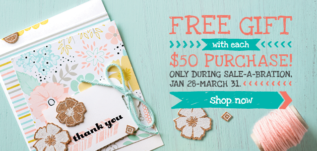 Sale-a-Bration Stampin' Up