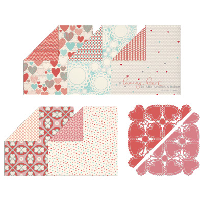 More Amore Designer Series Paper All images © Stampin' Up! Item #129309 / Original Price: $12.95 / Sale Price: $5.19