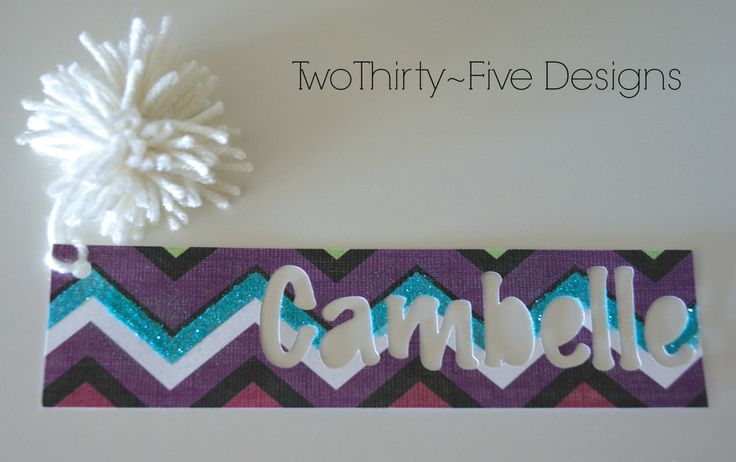 Bookmark from Two Thirty-Five Designs