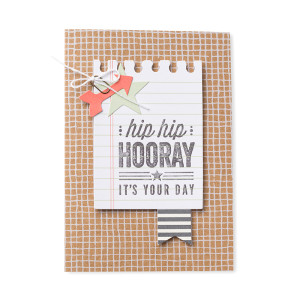 Hip Hip Hooray Card Kit 2, Stampin Up, 134998O7