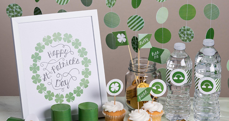 Luck of the Irish, Stampin Up My Digital Studio, Digital Download, Item #137092