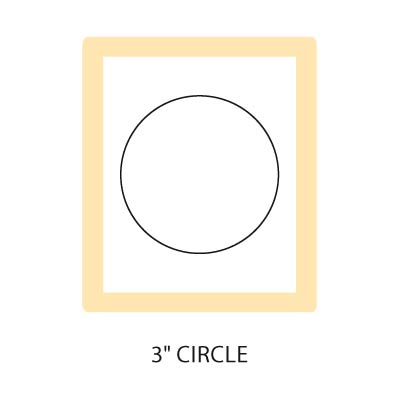 3 inch Circle, Stampin Up, Item 122125L