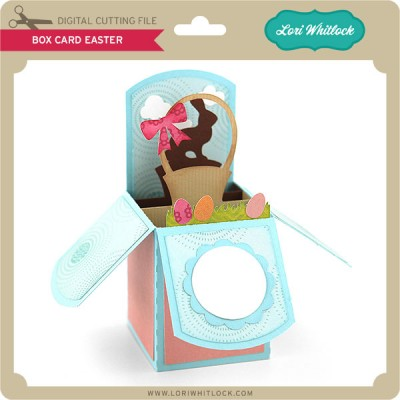 Lori Whitlock-Box-Card-Easter