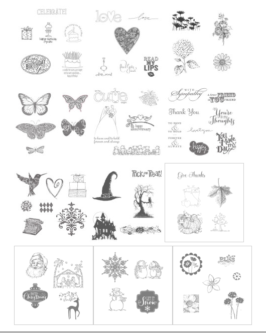 Best of 25 Years Stamp Sets from Stampin' Up!