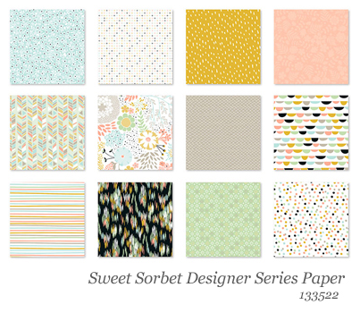 Sweet Sorbet Designer Series Paper, FREE during Sale-a-Bration, Item 133521