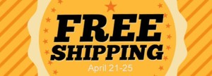 FREE Shipping on Stampin' Up! through April 25, 2014