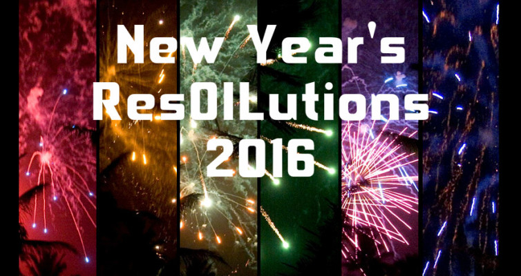 New Year's Resolutions, Using Essential Oils to support your New Year's resolutions.