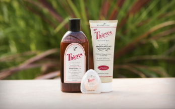 Thieves Oral Care Products from Young Living for a Healthy Smile!