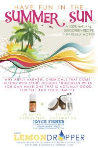 SUNSCREEN Young Living Essential Oils