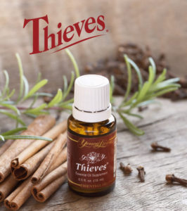 Young Living Thieves Essential Oil for Immune Support