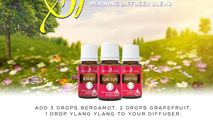 Young Living Essential Oil Diffuser Recipe for Spring